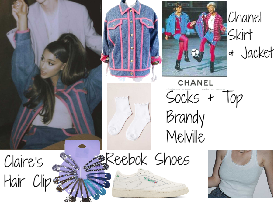 "Grande OutfitShoplook Ariana ""dance To Video This"" UMVGSqzp"
