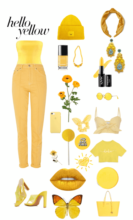 6b6a854181 hello yellow Outfit
