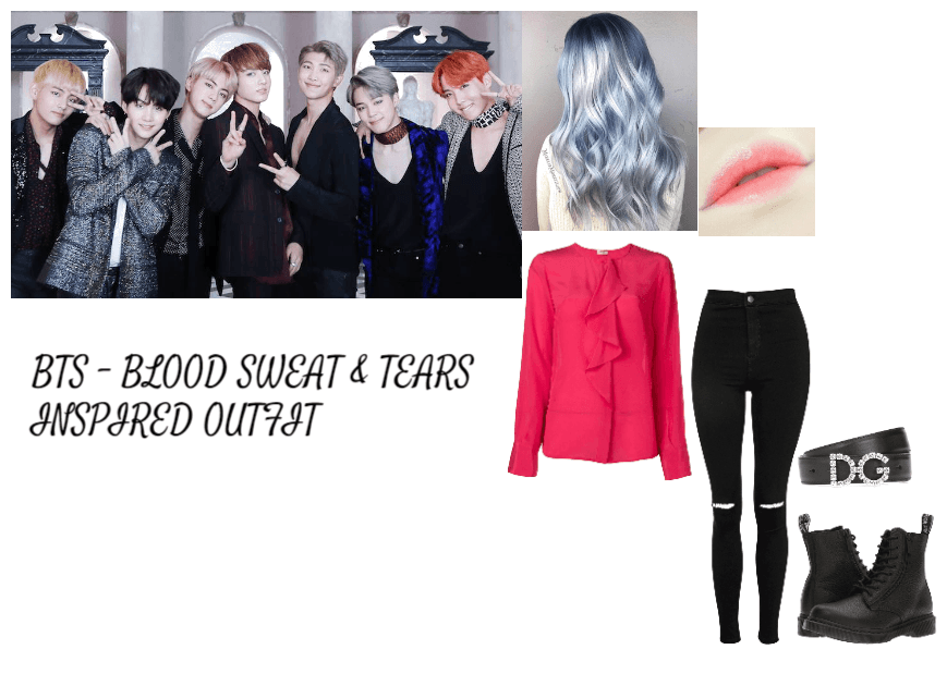Bts Blood Sweat Tears Inspired Outfit Outfit Shoplook