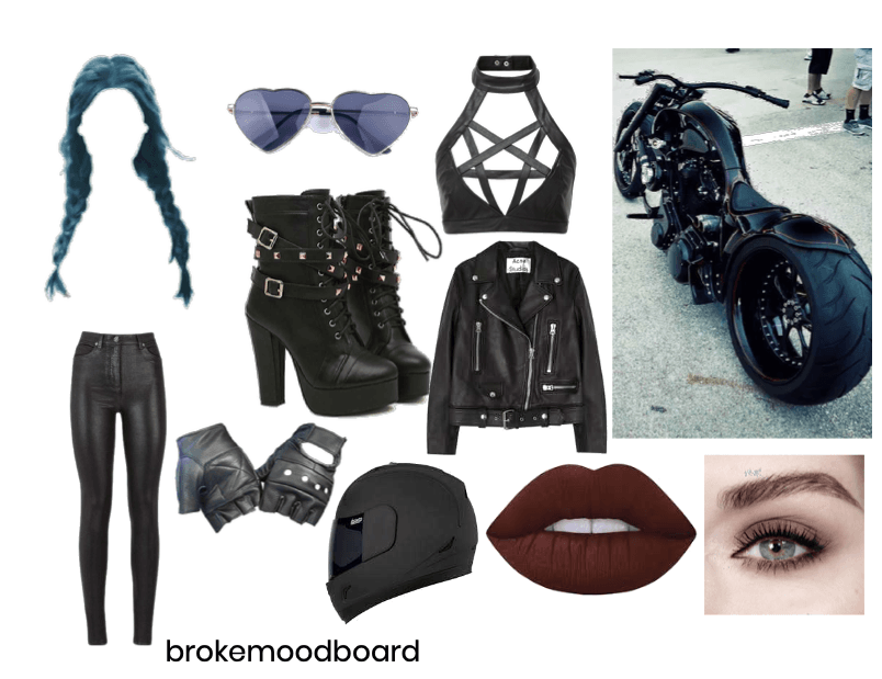ecb70ebde70f The biker chick. Outfit | ShopLook