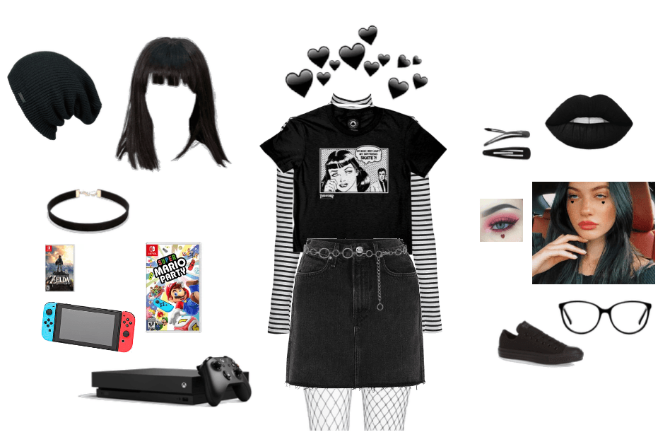 E,Girl Asthetic Outfit
