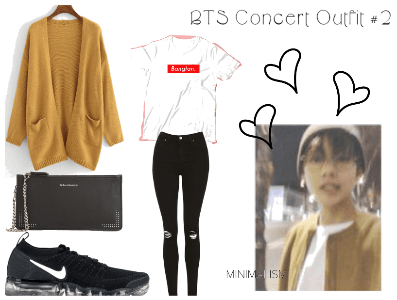 27c464c2f24 My BTS Love Yourself Concert Outfit  2 Outfit