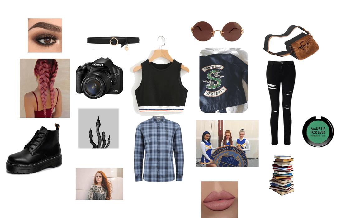 Toni Topaz Riverdale Outfit Shoplook