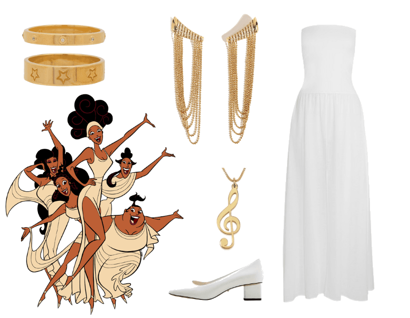 muses disneybound from hercules thalia outfit shoplook