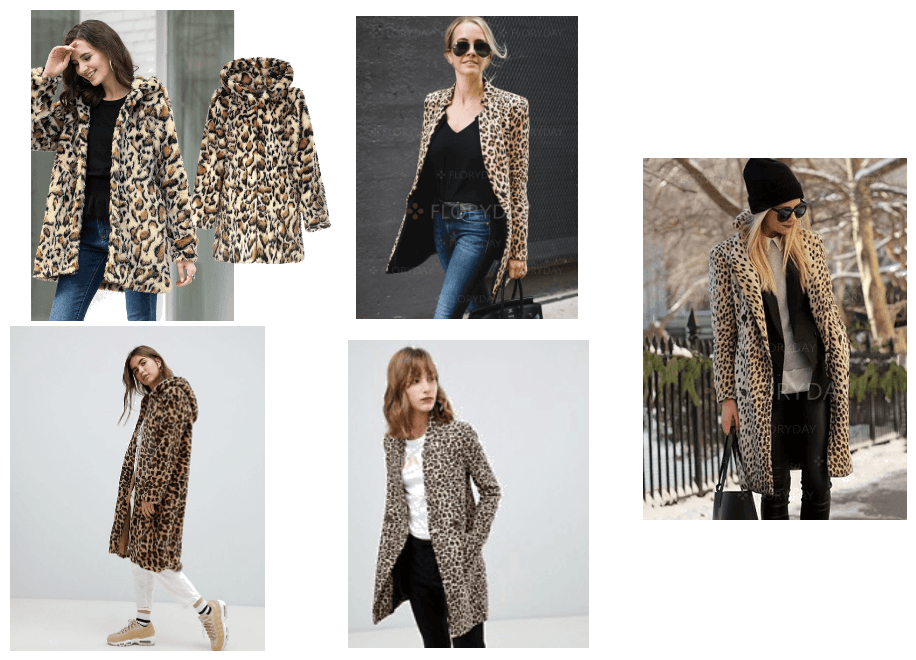 low cost leopard coat Outfit  726f5b01647e