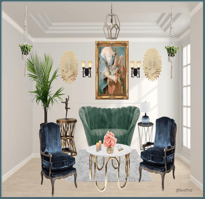 Vintage/Modern Ecliptic Living room Outfit   ShopLook