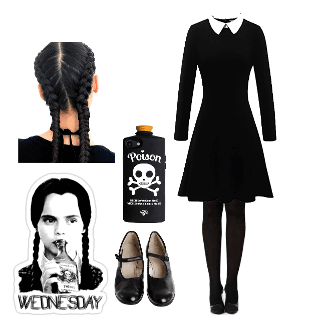 Wednesday Addams Halloween Outfit Shoplook