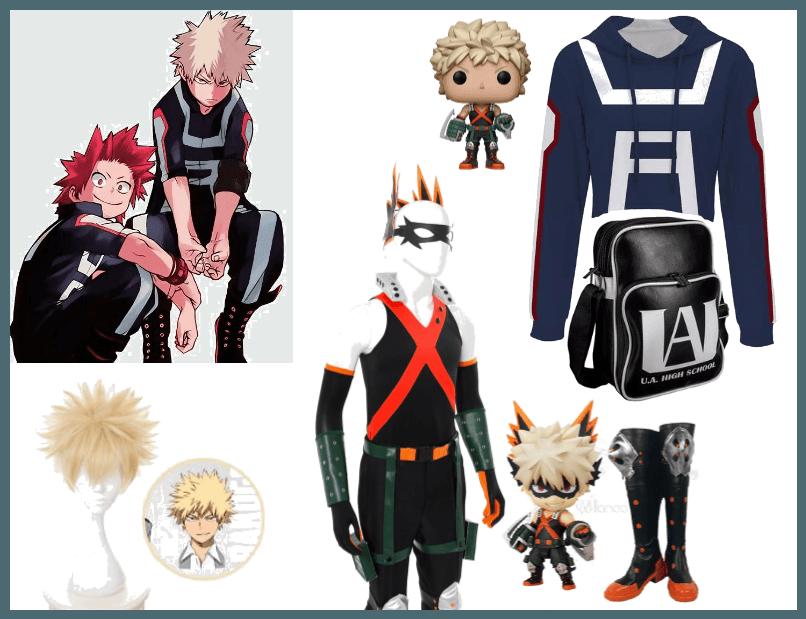 Katsuki Bakugo My Hero Academia Cosplay Outfit Shoplook