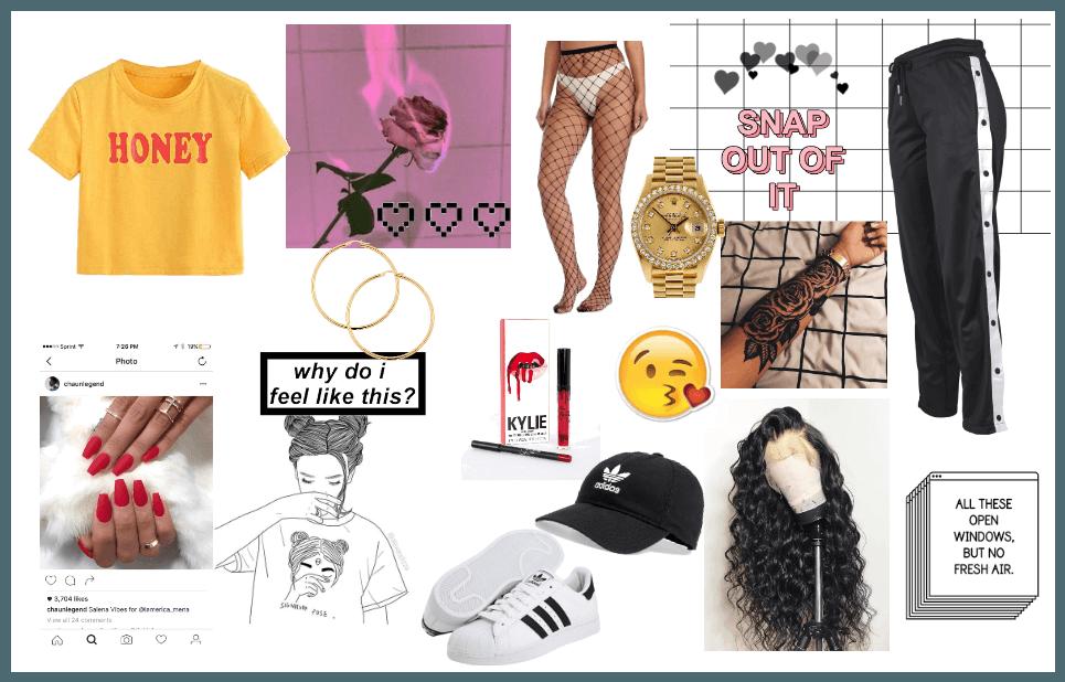 Instagram Baddie Outfit Shoplook