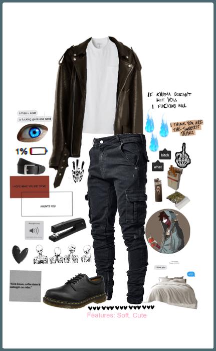 Dabi Touya Todoroki Outfit Shoplook