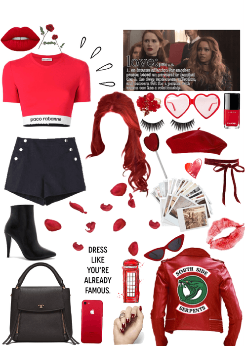 Cheryl Blossom Custom Idea Outfit Shoplook