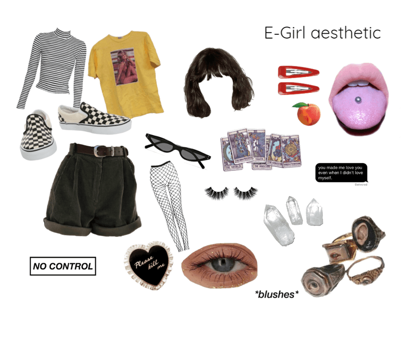 E,girl aesthetic Outfit