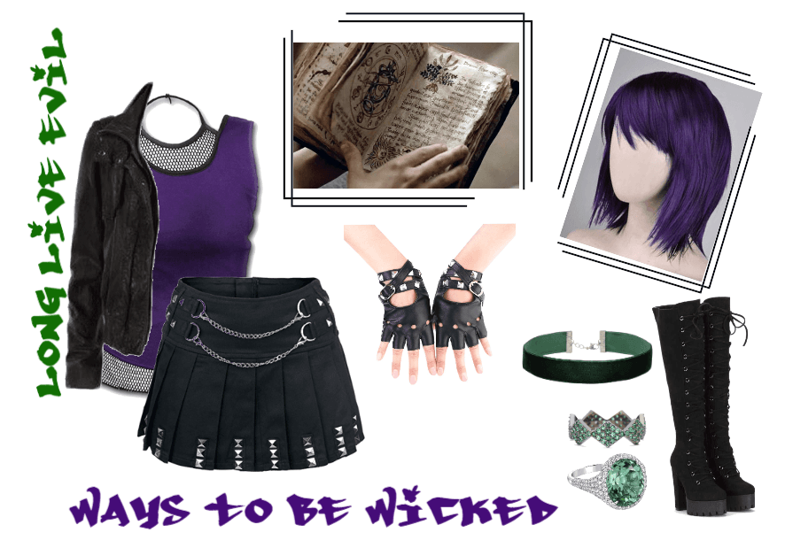 Mal Daughter Of Maleficent Outfit Shoplook