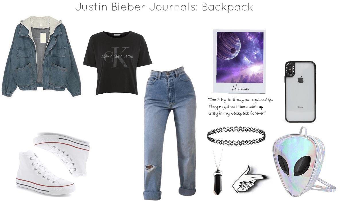 foto de Justin Bieber Journals: Backpack Outfit   ShopLook
