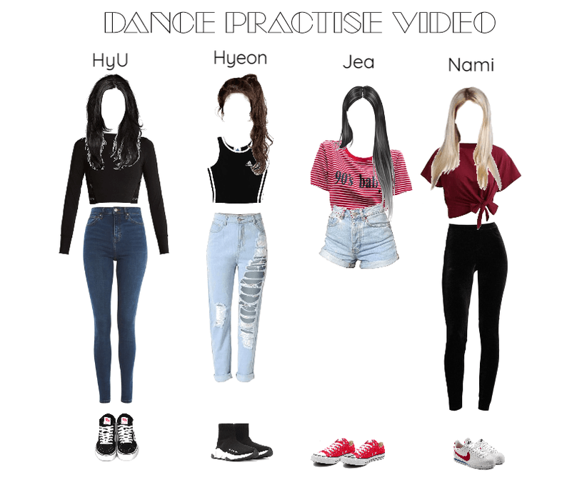 9512c6e7c9b0c dance practice II girl group TIME Outfit | ShopLook