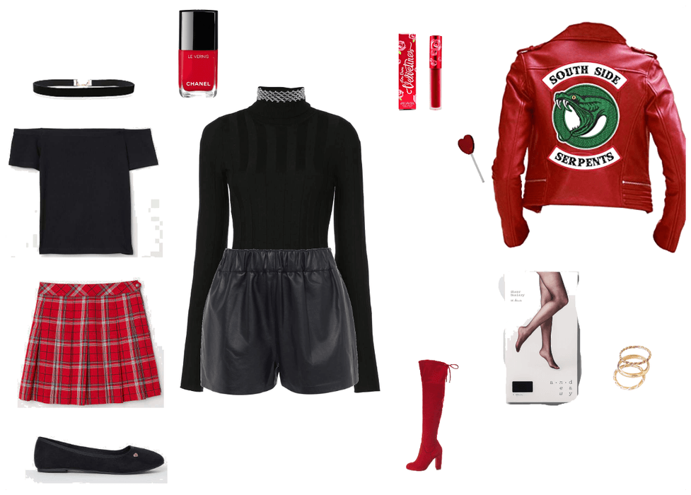 Cheryl Blossom Riverdale Outfit Shoplook