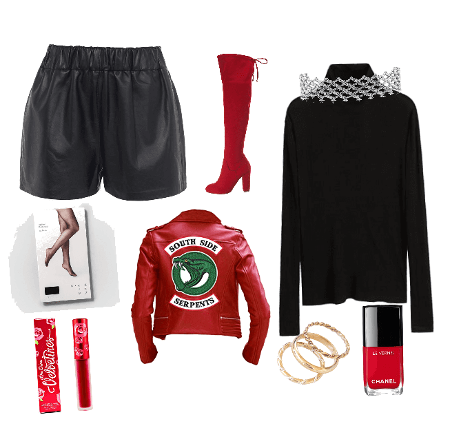 Cheryl Blossom Outfit Shoplook