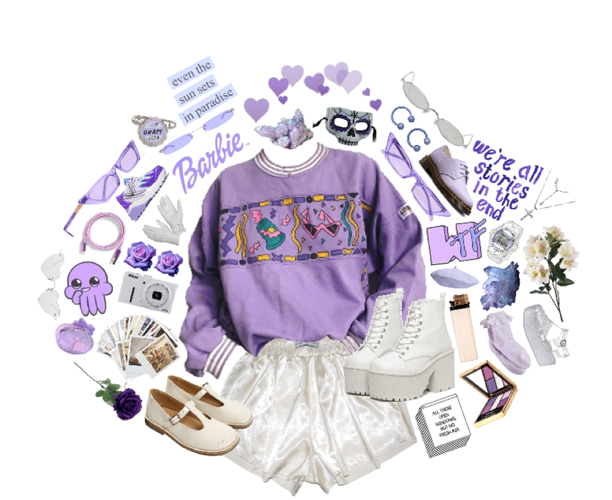 Purple Aesthetic Outfit Shoplook