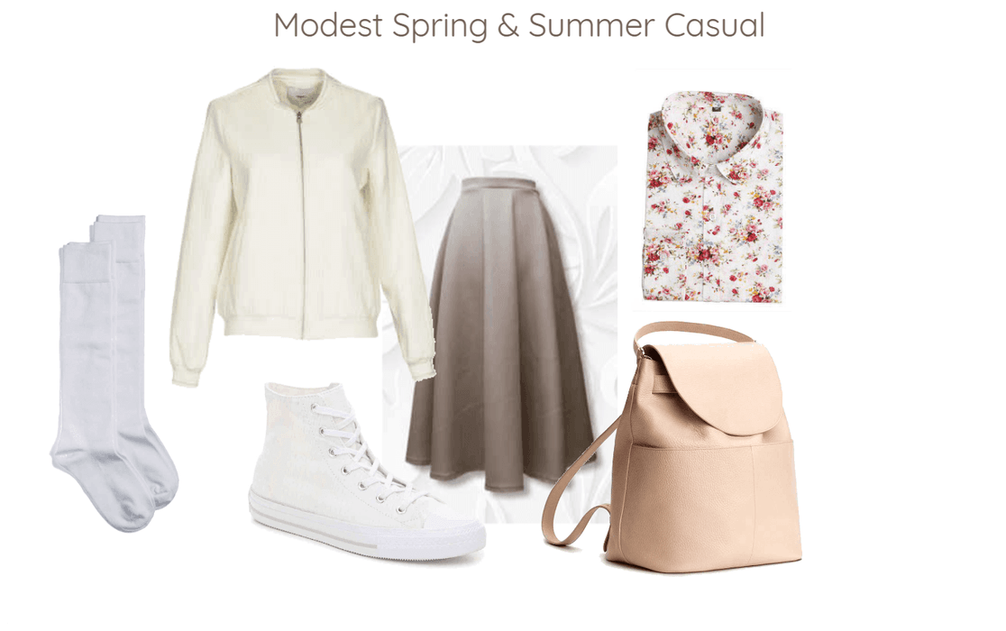 91df5781ca8 Modest Spring   Summer Casual Outfit
