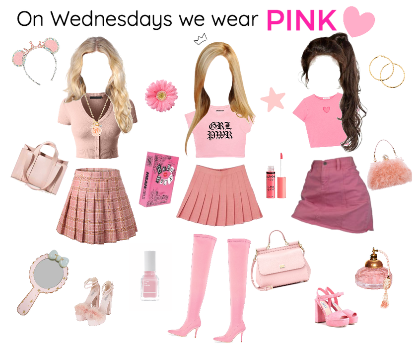 On Wednesdays We Wear Pink Outfit