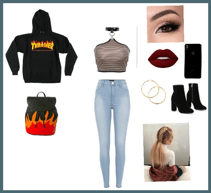 High School Baddie Outfit Shoplook