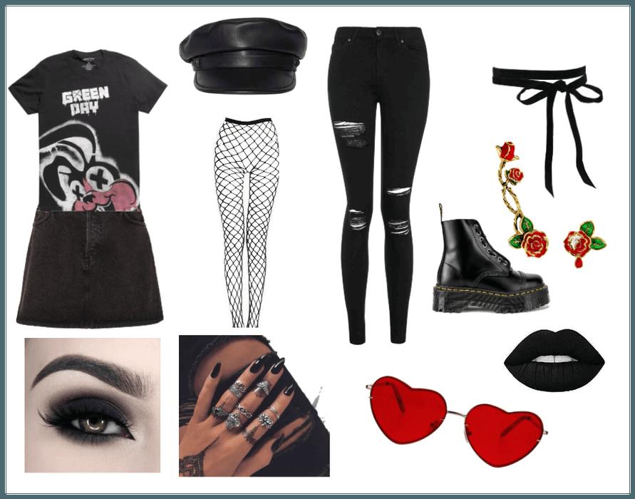 Goth boy/girl/eboy Outfit