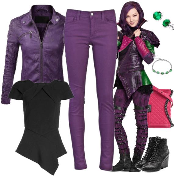 Mal - Descendants Outfit   ShopLook