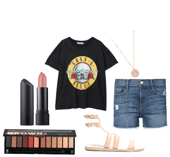 Girly Rocker Chic Outfit | ShopLook