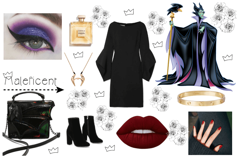 Maleficent Outfit Shoplook