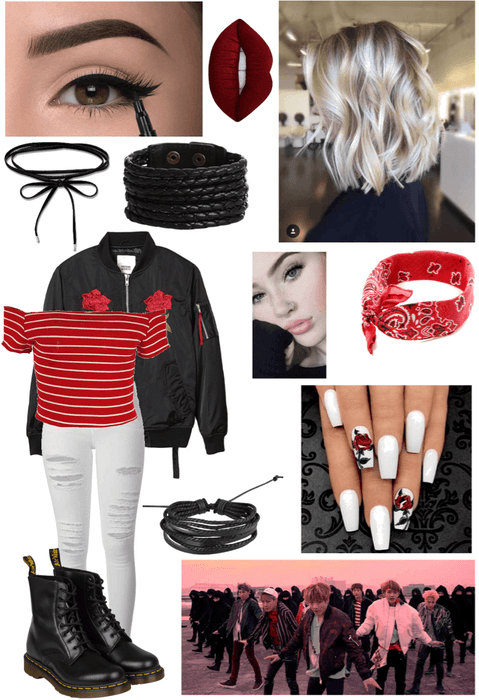 Bts Not Today Outfit 1 Outfit Shoplook