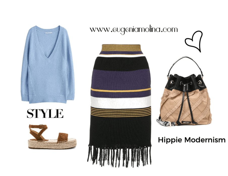 looks hippie modernism, fashion trend alert