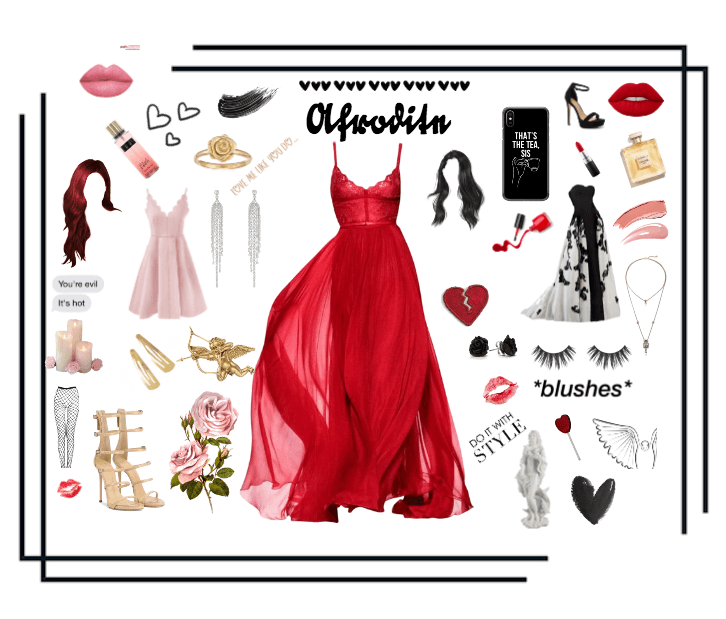 Aphrodite The Love Goddess Outfit Shoplook