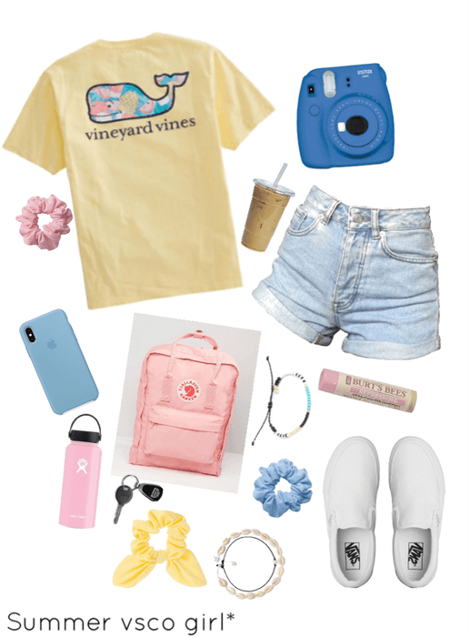summer VSCO girl Outfit | ShopLook