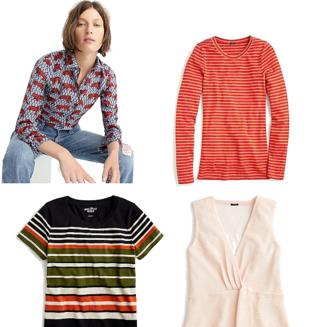 622463a37e9d3 August Purchases - JCrew Tops Outfit