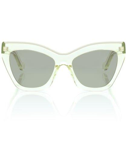 9e50aefc655e9 Super by retrosuperfuture Panama Metric Cat-Eye Sunglasses