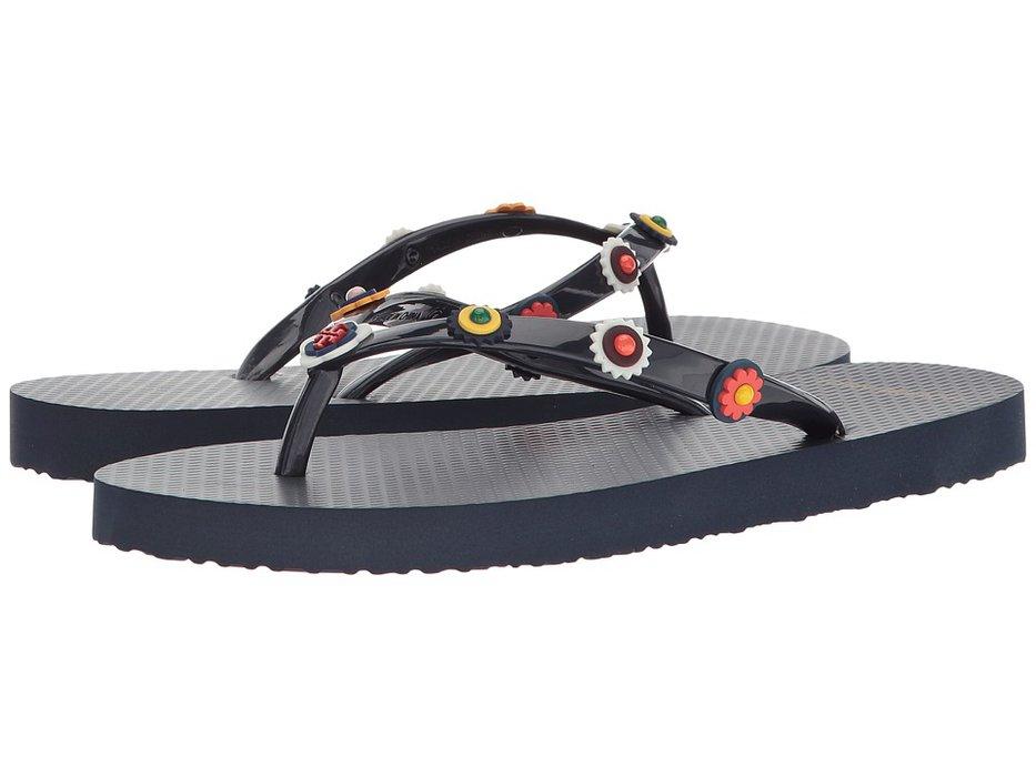 ff964ead3 Tory Burch - Marguerite 2 Flip-Flop (Perfect Navy) Women s Sandals