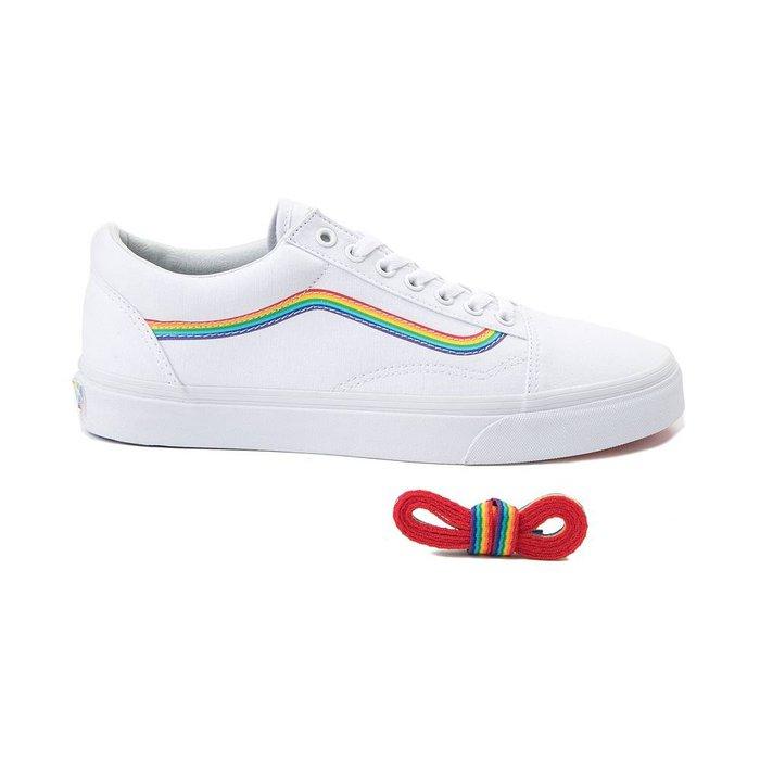 vans old skool rainbow skate shoes