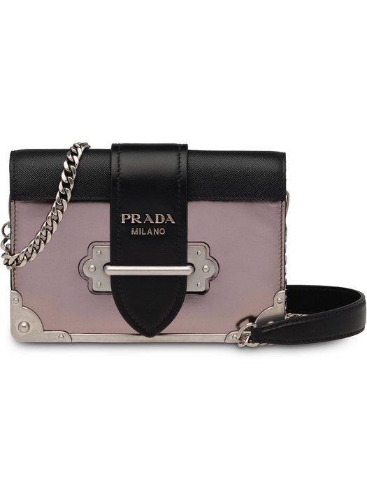 Prada Cahier Shoulder Bag - Farfetch 0f5aaa4c3405a
