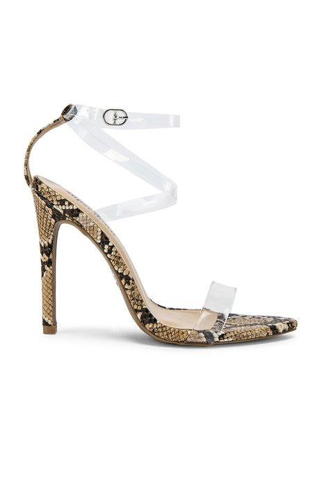 9a36091d777 jeffrey campbell Jeffrey Campbell Charmed Heel in Silver Clear ...