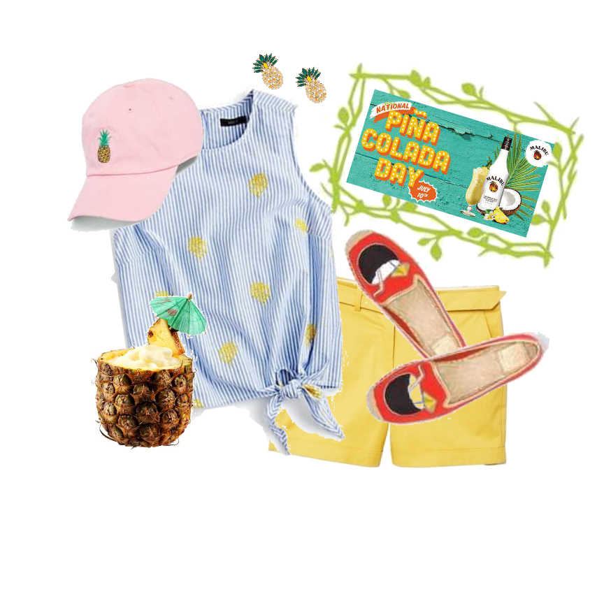 Pina Colada Day Outfit