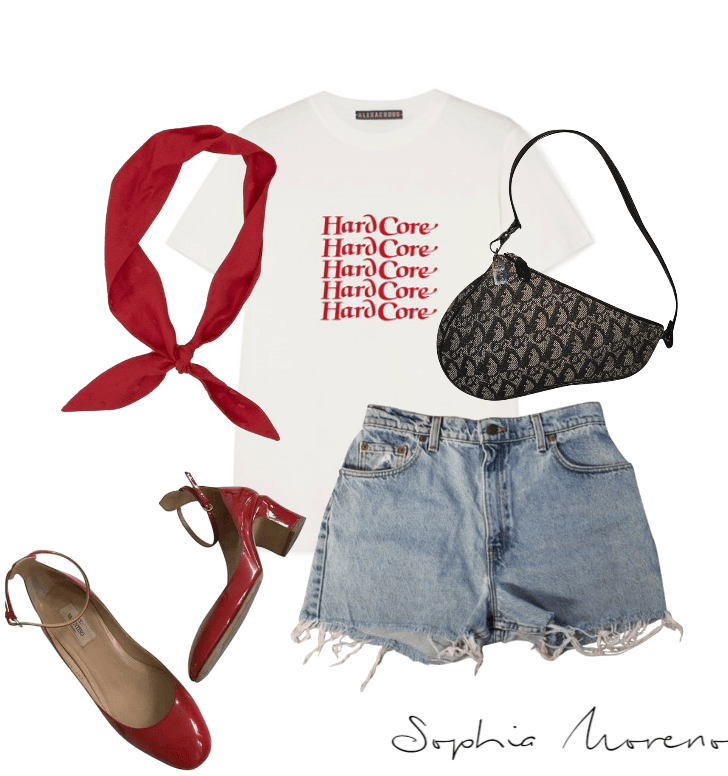 Pops of red