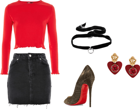 ceryl blossom outfit (riverdale collection)