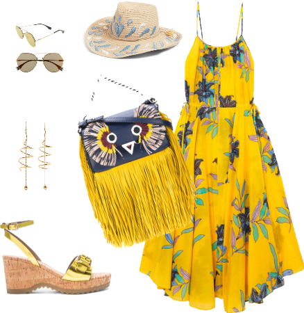 Sunny Yellow Summer