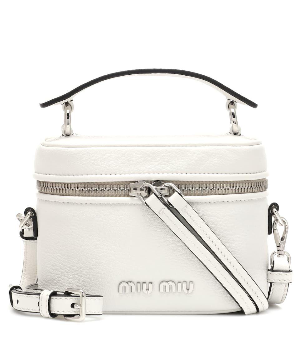 Leather Shoulder Bag | Miu Miu - mytheresa.com