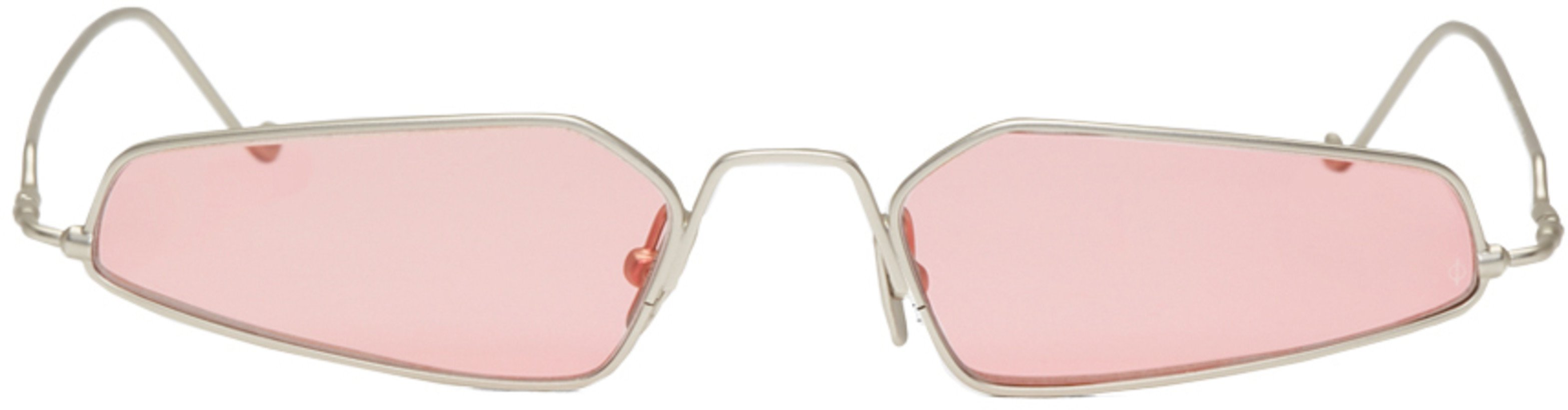 NOR  Silver & Pink Dimensions Micro Sunglasses €195 EUR