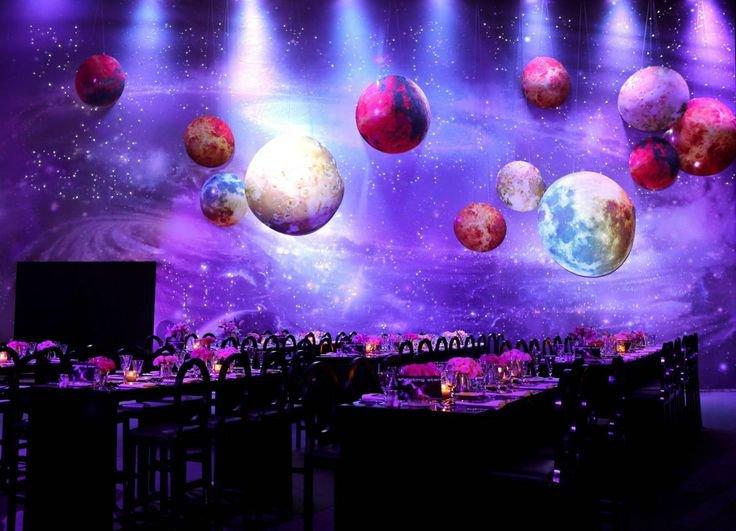 Galaxy Themed Hall