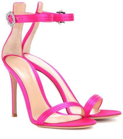 Exclusive to mytheresa.com – Ava satin sandals