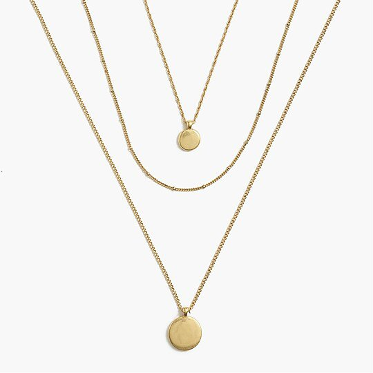 J.Crew Factory: Three-layer Necklace Set