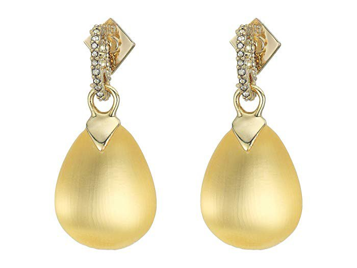 Alexis Bittar Tear Drop Crystal Post Earrings