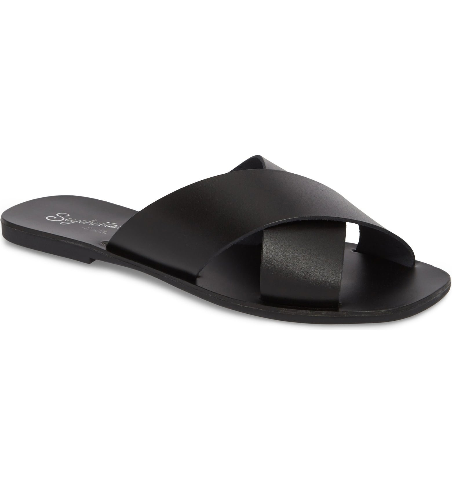 Total Relaxation Slide Sandal SEYCHELLES black